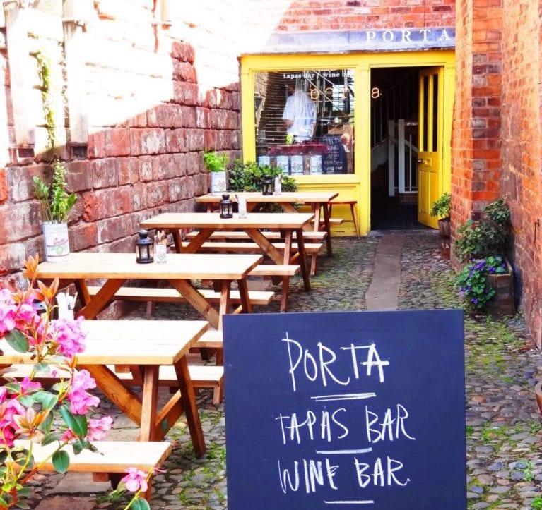 porta restaurant tapasbar outside terrace