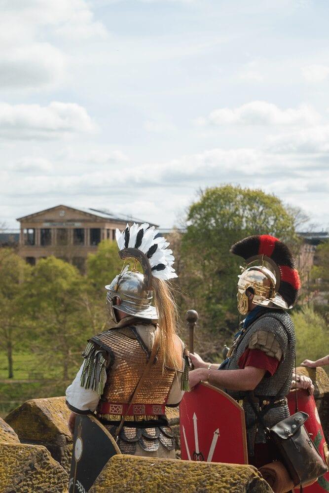 roman tours city walls