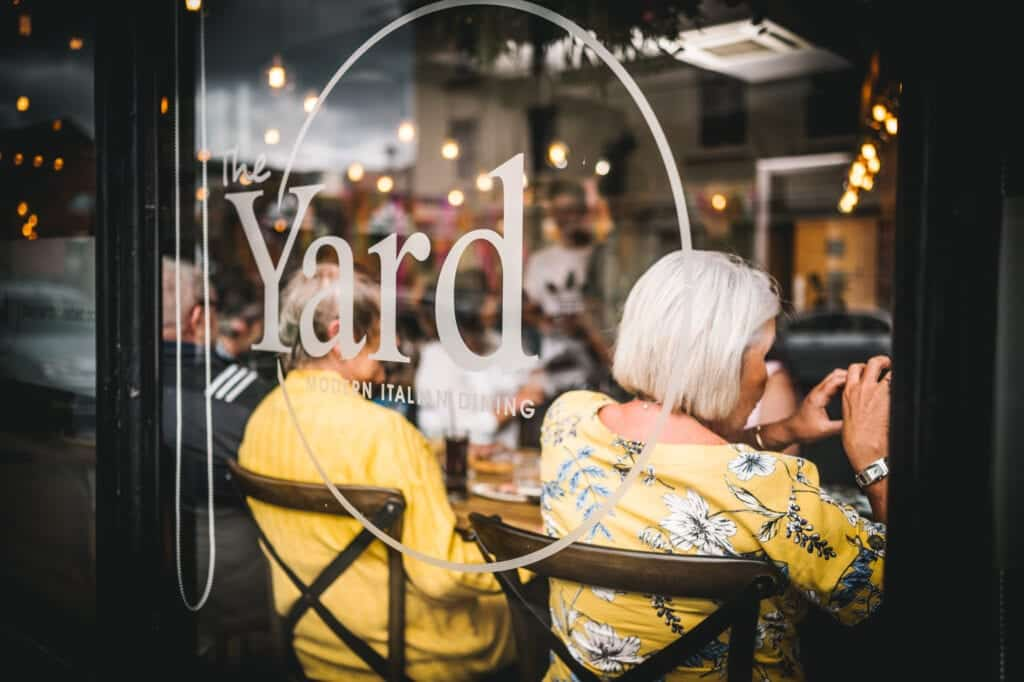The Yard Italian Fine Dining Restaurant In Chester