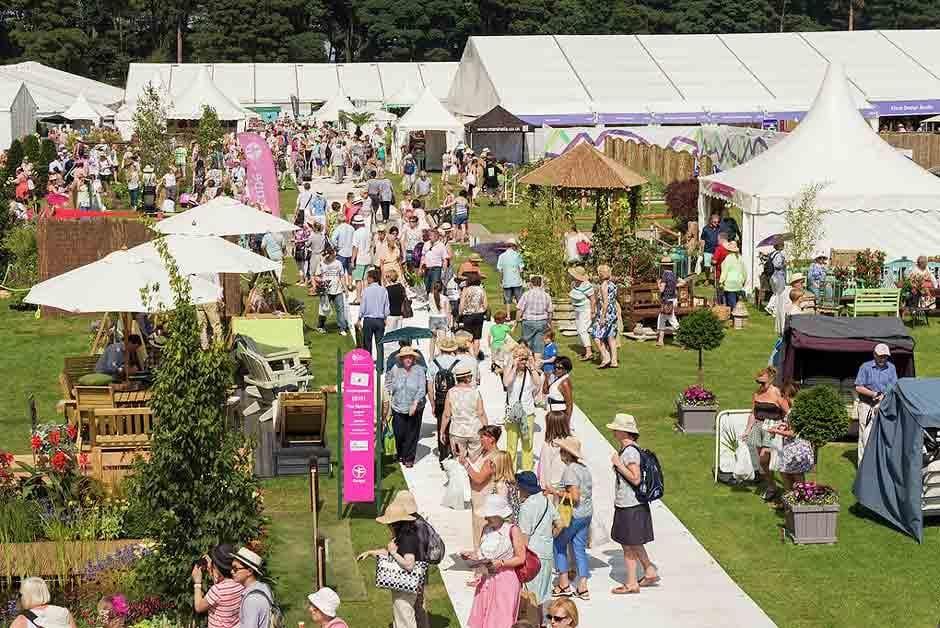 Tatton Park Rhs Flower Show Showground