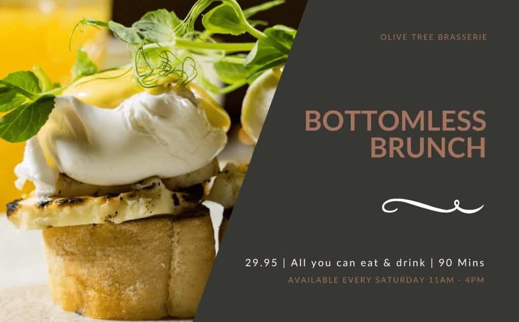 Olive Tree Brasserie Bottomless Brunch