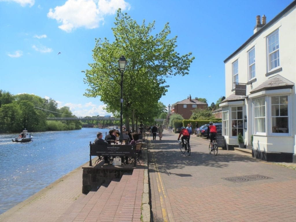 The Moorings in Chester