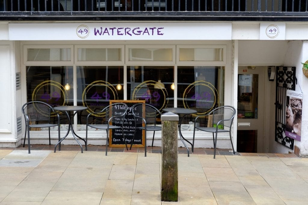 Watergate Restaurant in Chester