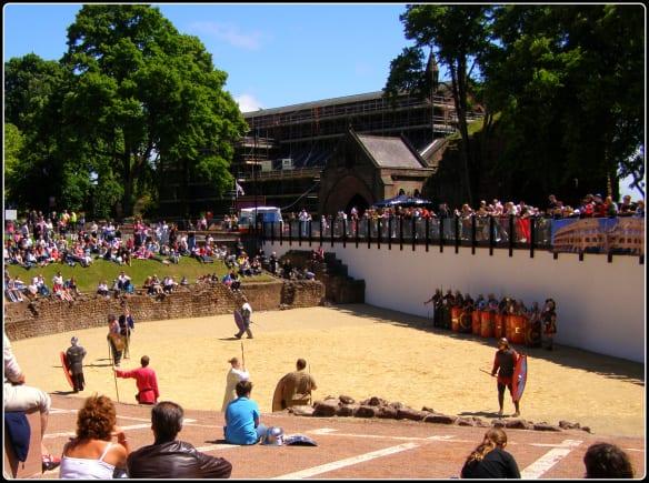 Chester Roman Amphitheatre Show