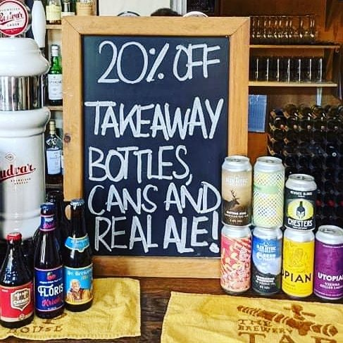 the brewery tap takeaway
