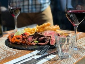 The Suburbs Steak Platter