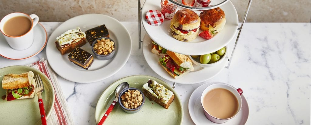 Veganuary Vegan Afternoon Tea at Cafe Rouge