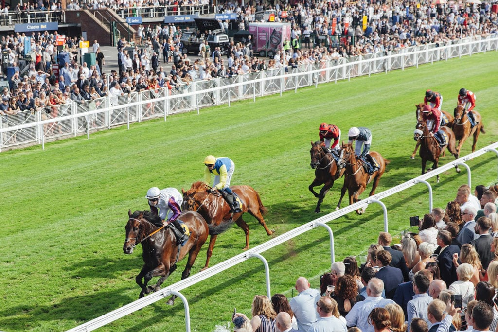 Action packed race day at Chester Racecourse