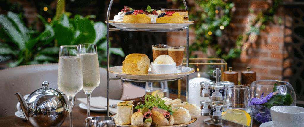 Grosvenor Pulford Hotel Valentine's Afternoon Tea in Palm Court