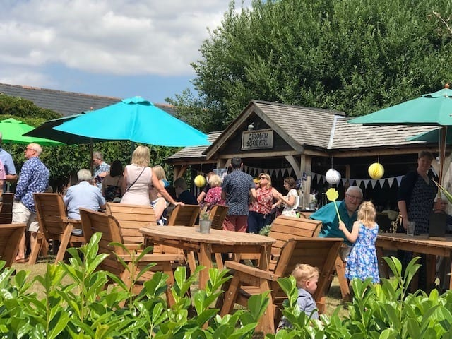 The Chester Fields Country Pub And Restaurant Outside