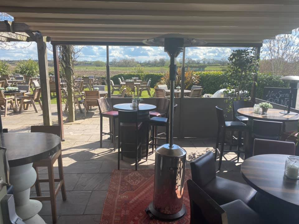 the chester fields heated outdoor dining
