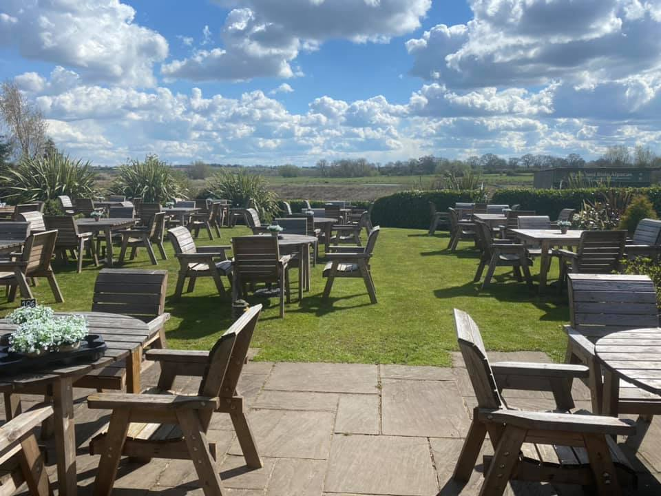 the chester fields outdoor dining brunch