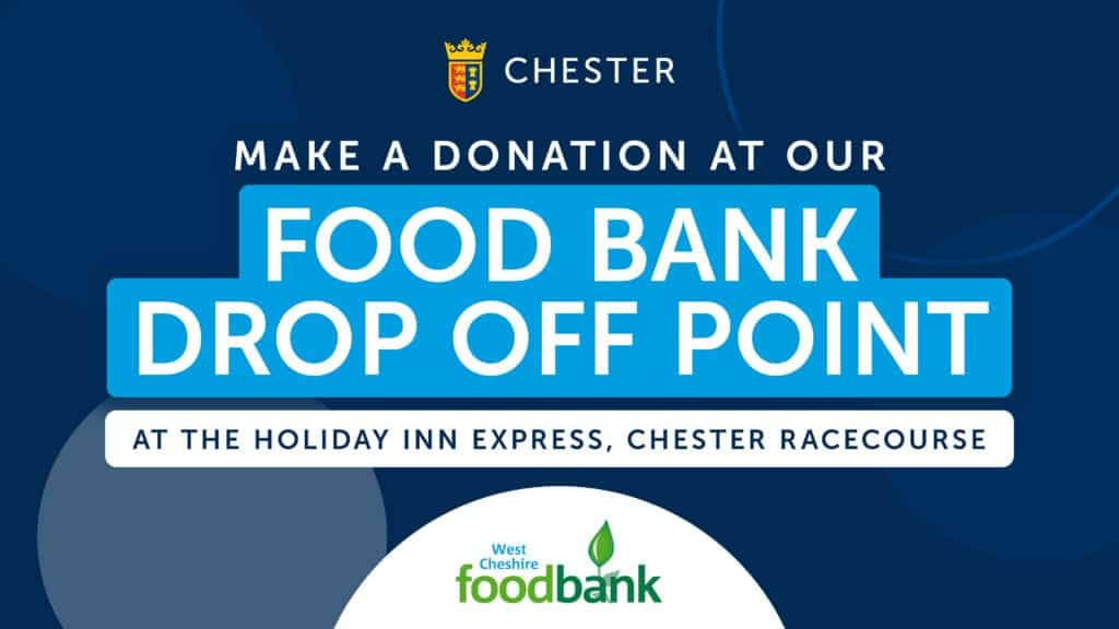 Chester Racecourse Foodbank
