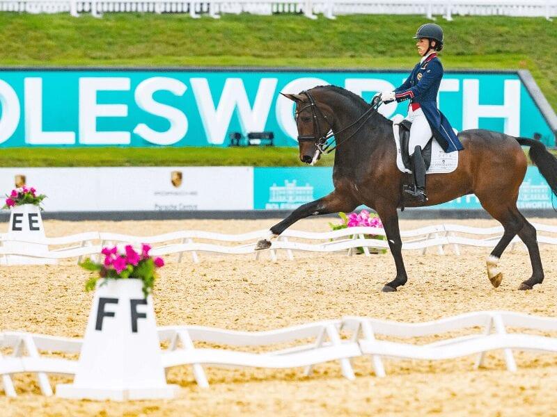 Equerry Bolesworth International Horse Show Dressage