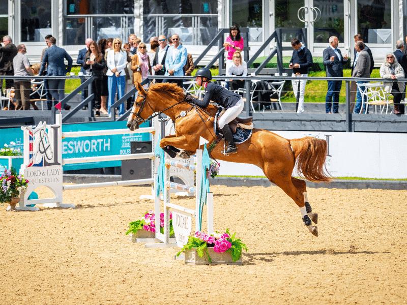 Equerry Bolesworth International Horse Show Show Jumping