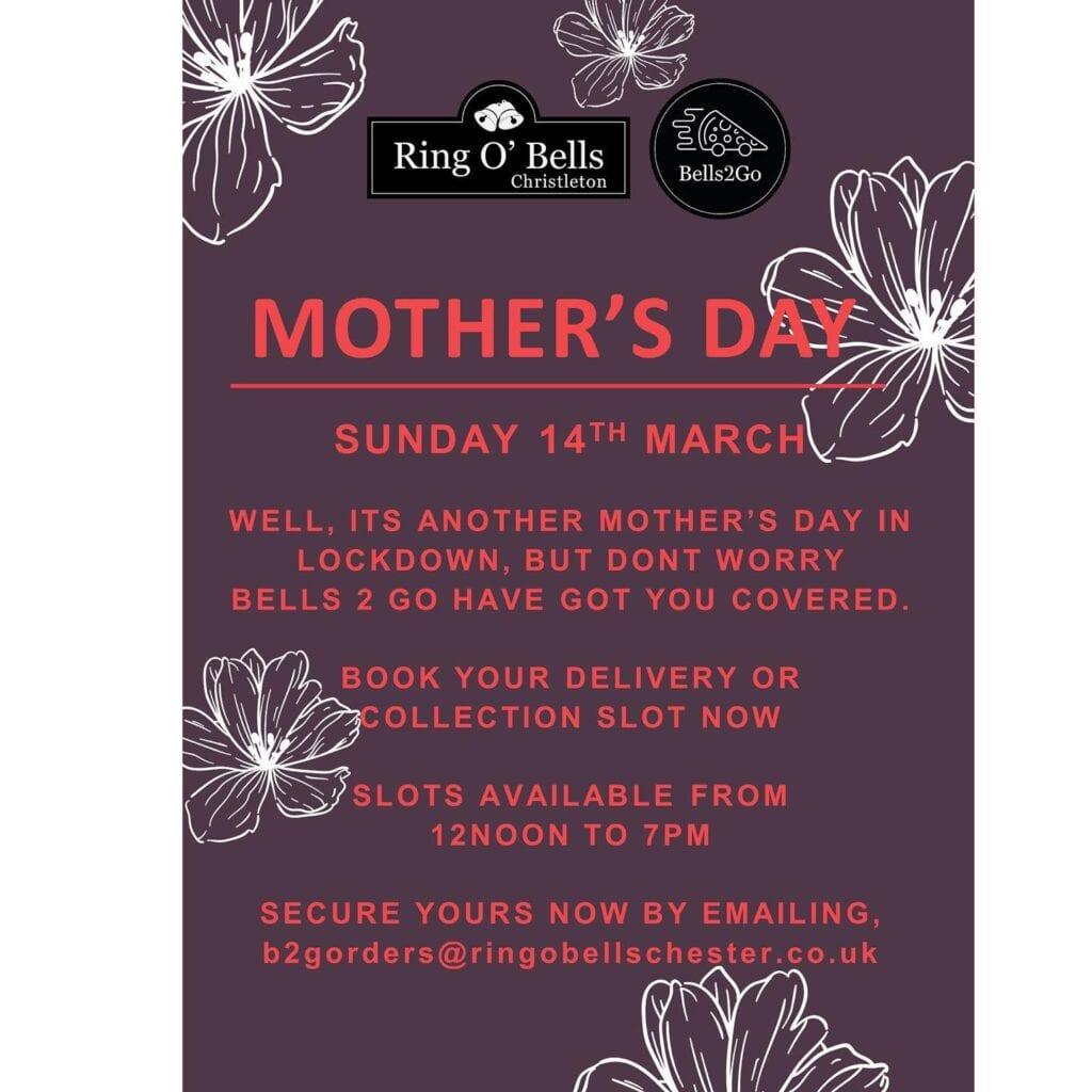 Ring O Bells Mothers Day 2021