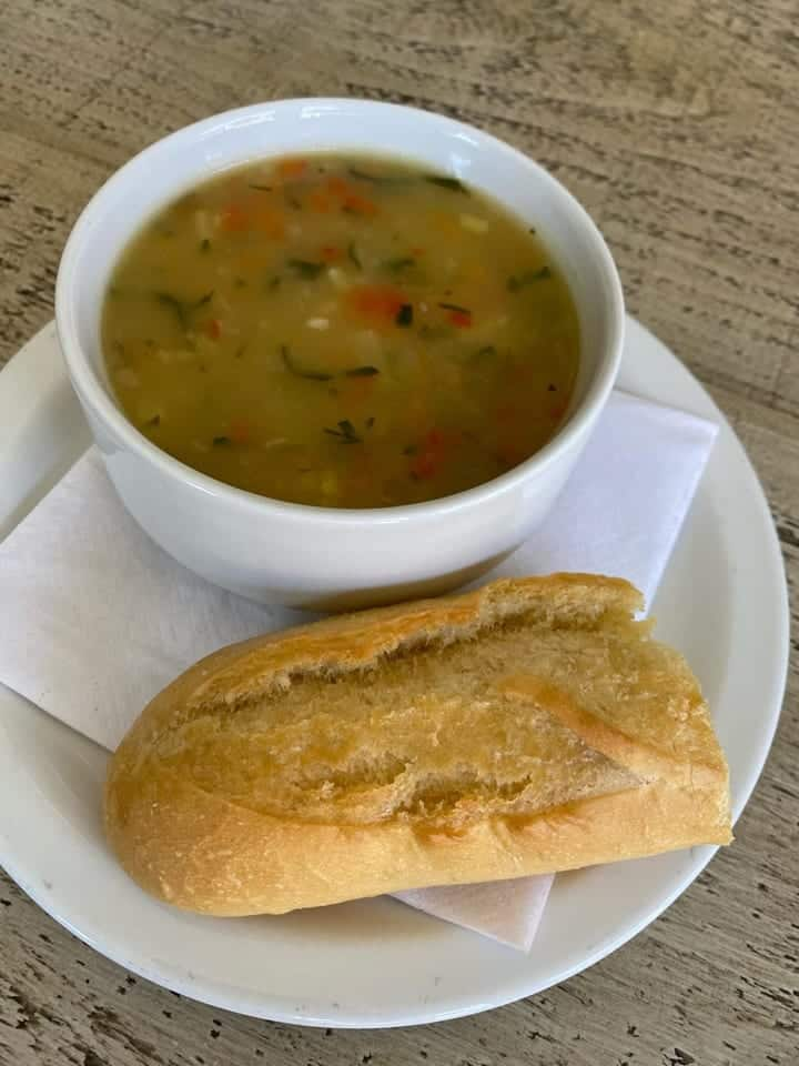 Chez Jules To You Spring Vegetable Soup