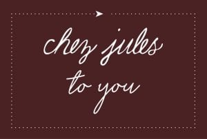 Chez Jules To You Logo