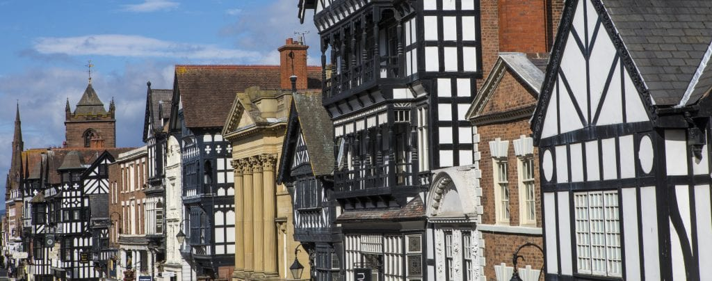 The City Of Chester In The Uk