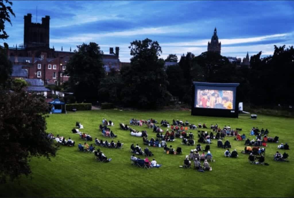 Moonlight Flicks Chester Cathedral=2020