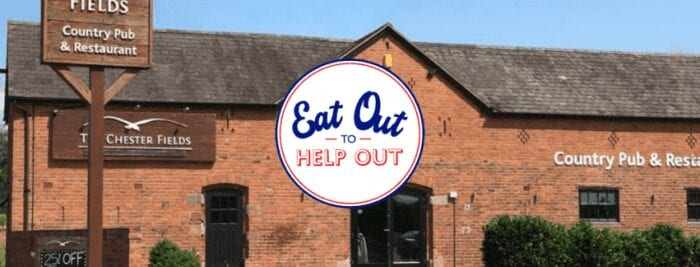 The Chester Fields Country Pub And Restaurant Eat Out To Help Out