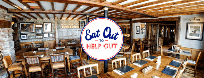 The Pheasant Inn Eat Out To Help Out