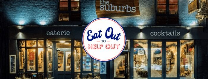 The Suburbs Eat Out To Help Out