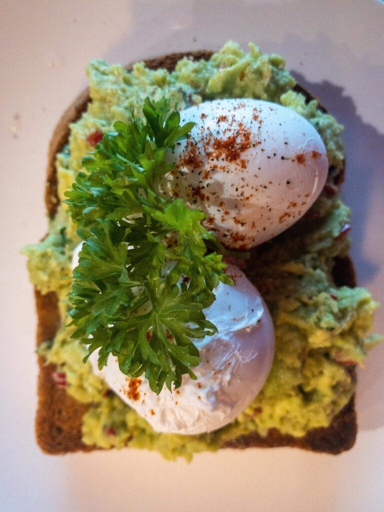 The Suburbs Smashed Avocado On Toast