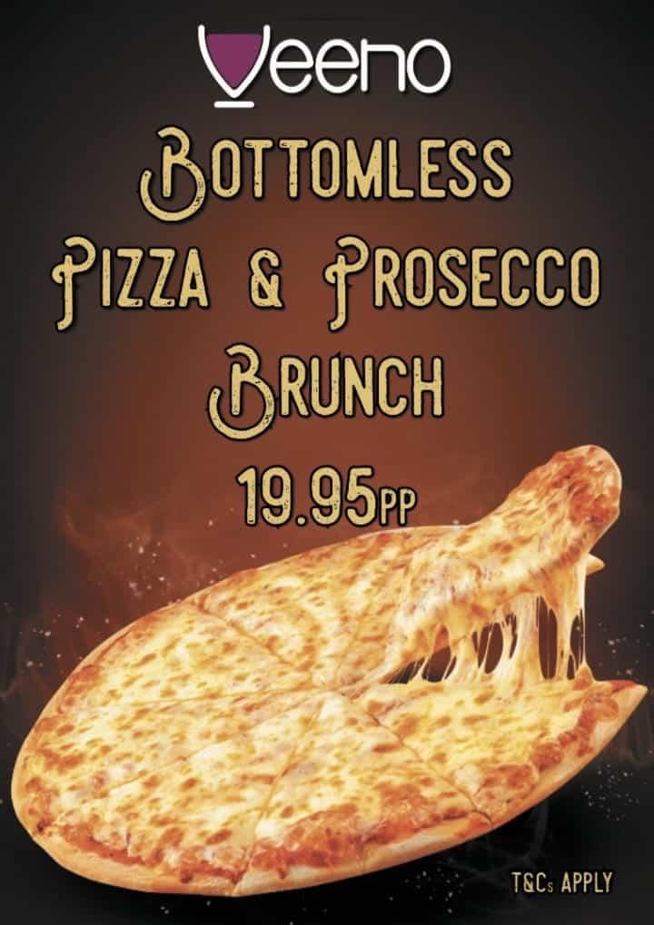 Veeno Bottomless Pizza Brunch