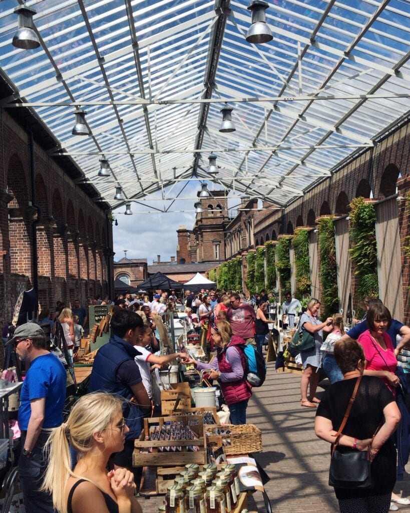 carriage shed chester makers market returns