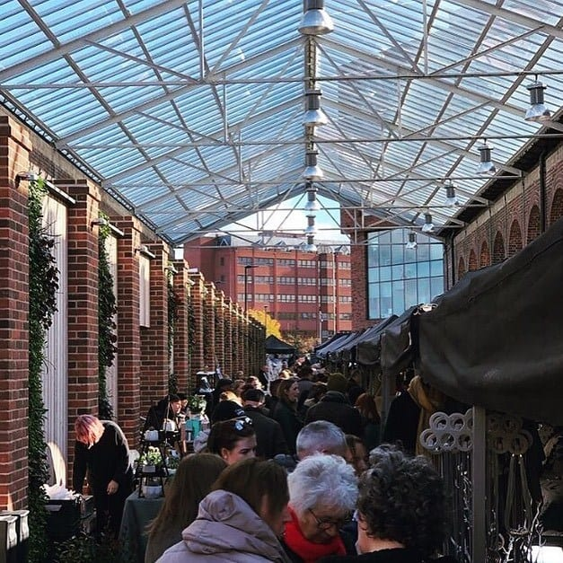 Chester Makers Market Carriage Shed Chester