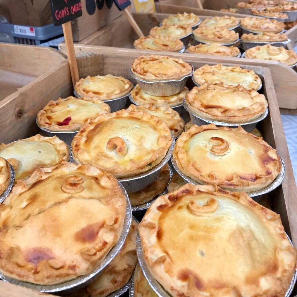 Chester Makers Market Pies