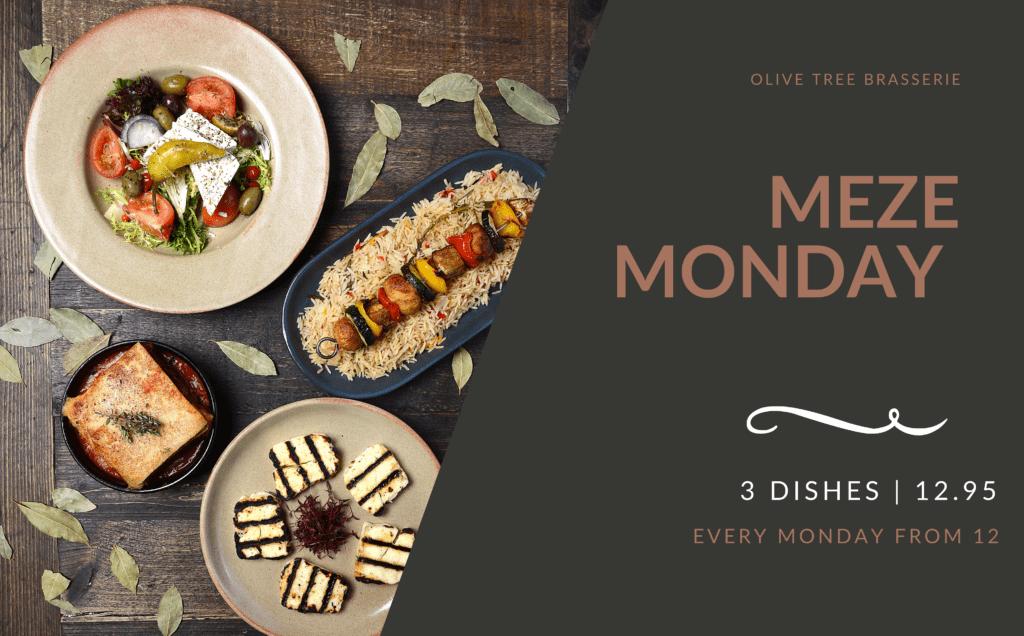 Olive Tree Brasserie Meze Monday
