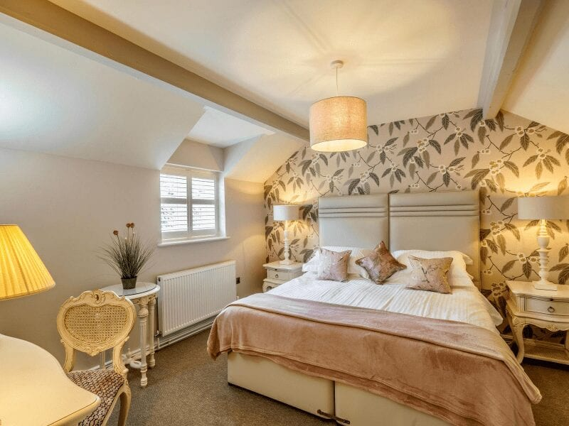 The Pheasant Inn Pennsylvania Cottage Bedroom 1