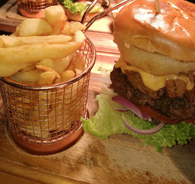 The Church Bar And Restaurant Burgers
