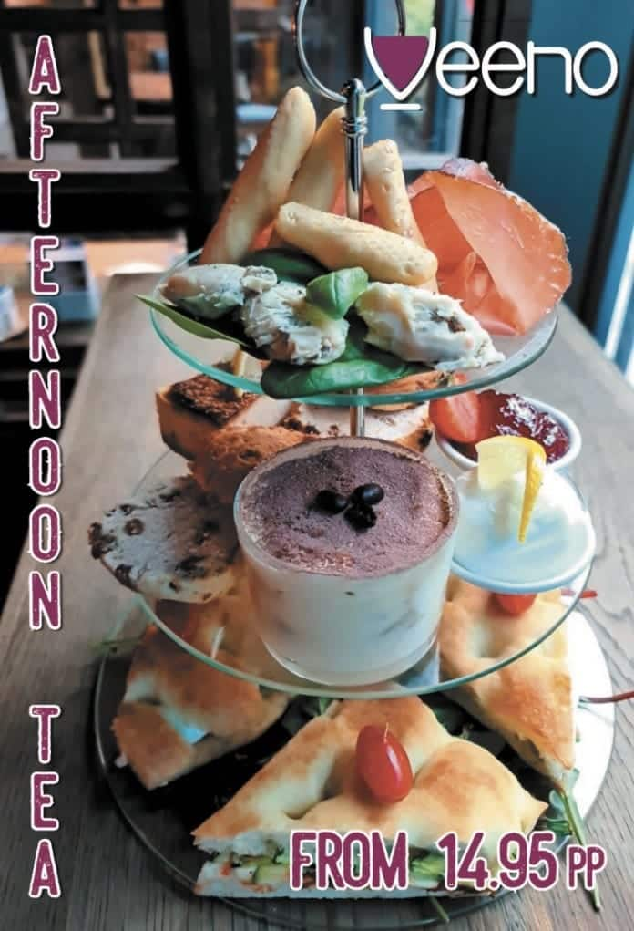 Veeno Afternoon Tea
