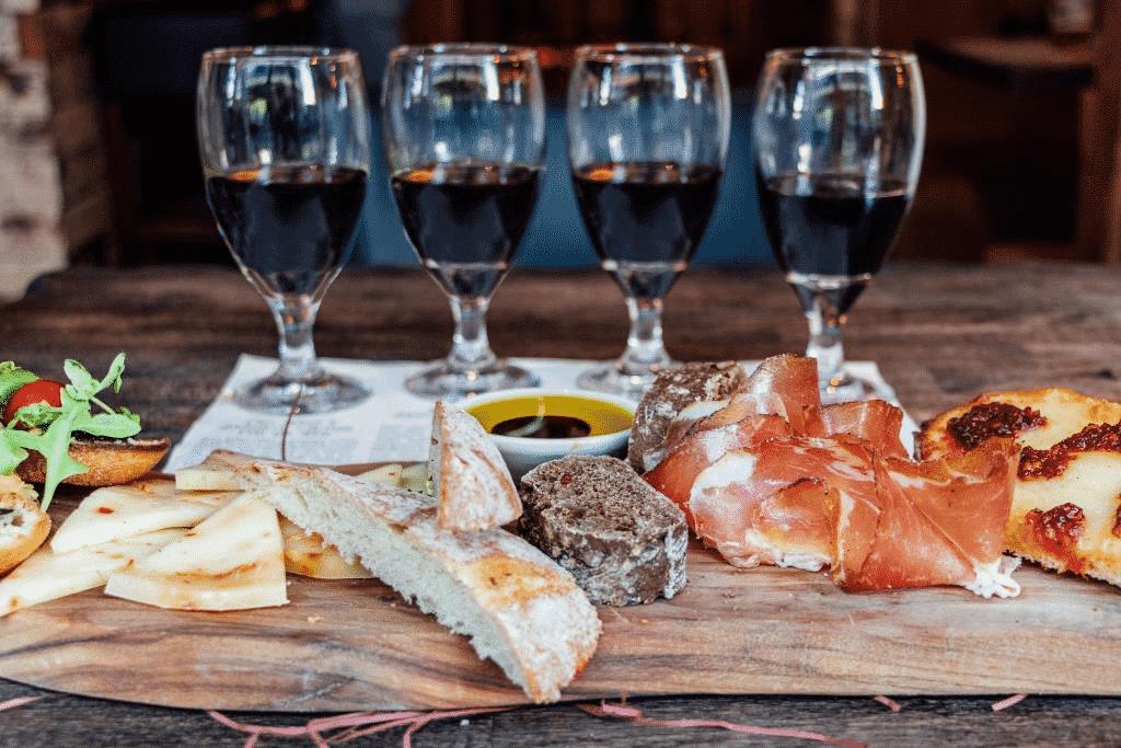 veeno i quattro rossi food and wine pairing