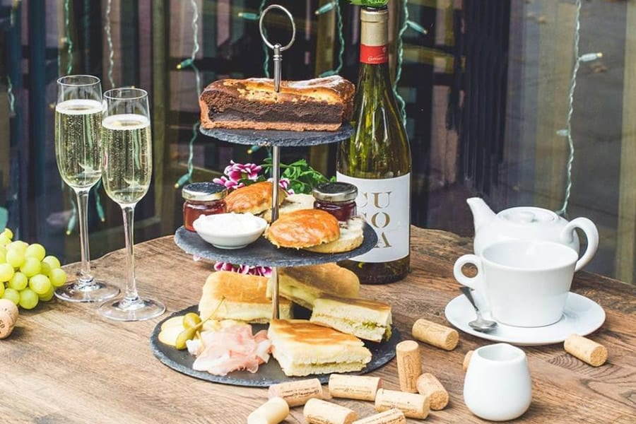 Veeno Italian Afternoon Tea With Prosecco