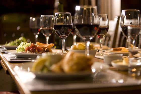 veeno wine tasting dinner