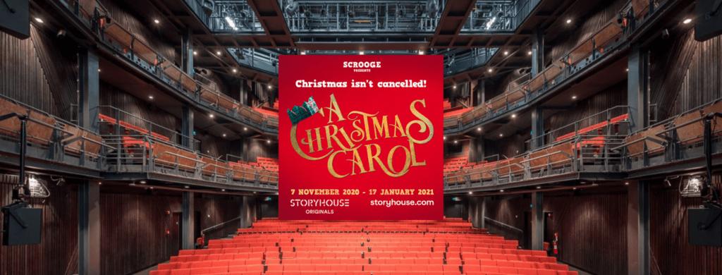 A Christmas Carol At Storyhouse Chester