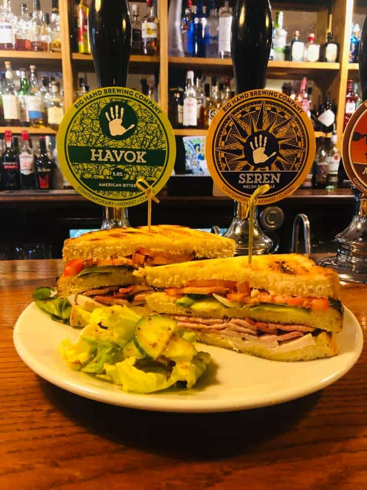 Big Hand Alehouse Toasted Sandwiches