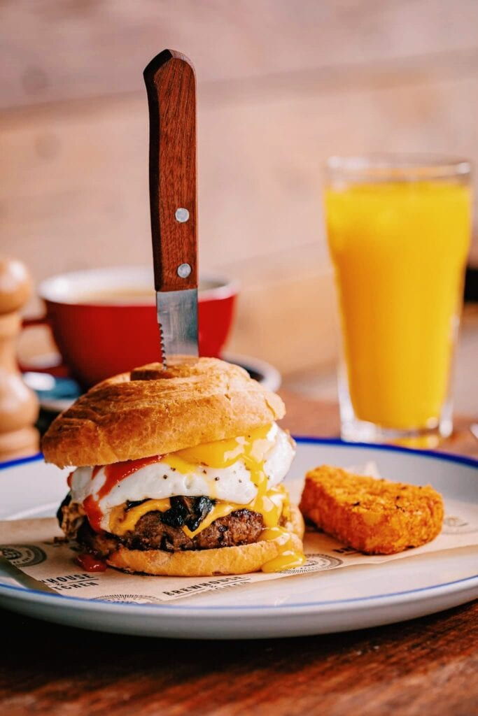 Brewhouse And Kitchen Brunch Burger