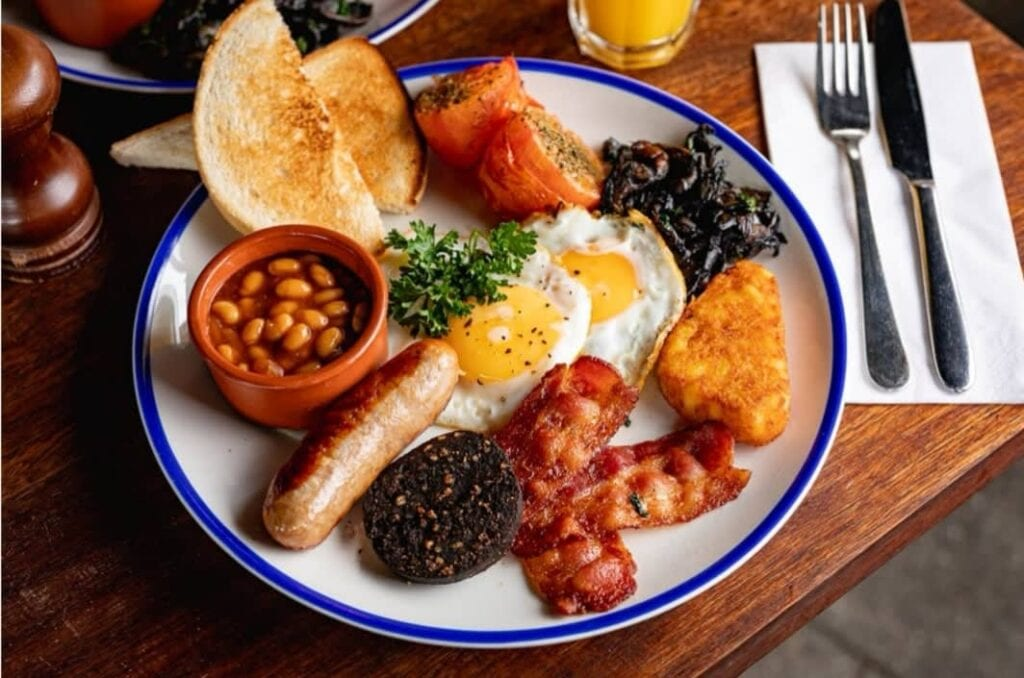 Brewhouse And Kitchen Brunch Full English