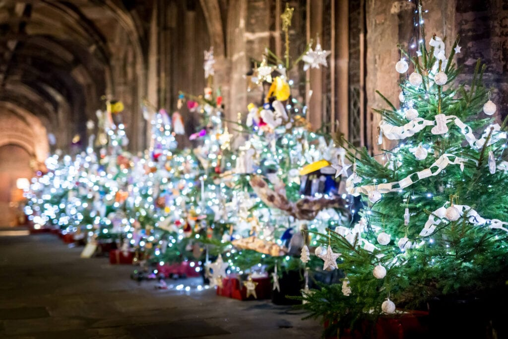 Christmas Tree Festival Chester Cathedral
