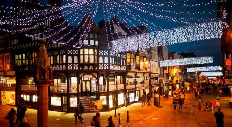 Christmas Lights Chester