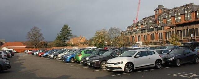 Linenhall Car Park Chester