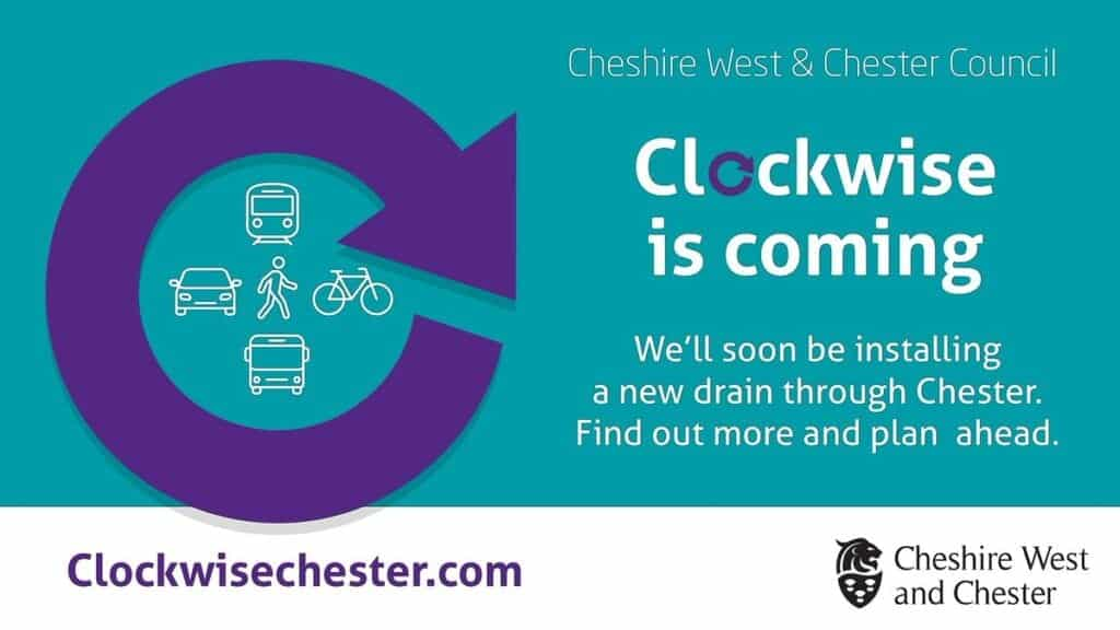 Cheshire West And Chester Clockwise One Way Route