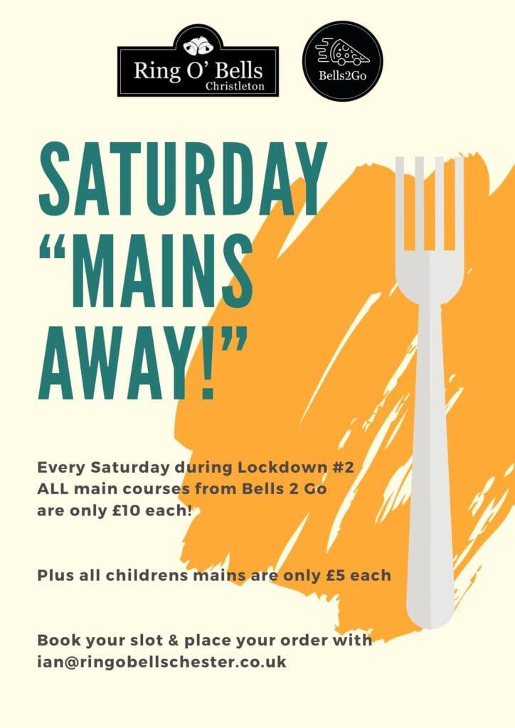 Ring O Bells B2g Saturday Mains Away