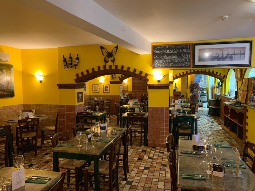 Ristorante Sergio Italian Restaurant City Centre