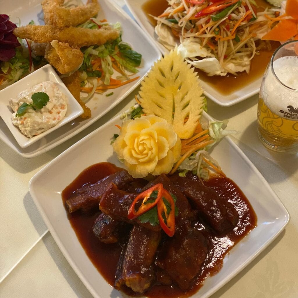 Ruan Orchid Thai Restaurant Delivery And Takeaway Chester